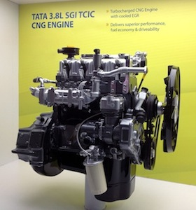 3.8-litre engine with WP580 EMS