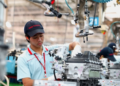 Toyota engine plant, Thailand