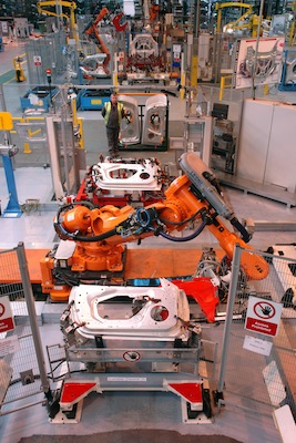 Jaguar F-Type assembly cell, Stadco