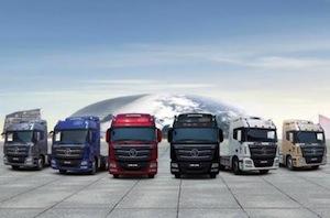 Auman trucks, BDFA