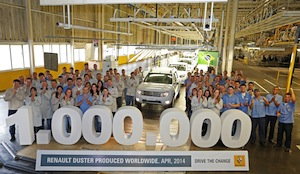 Duster, Renault Curitiba