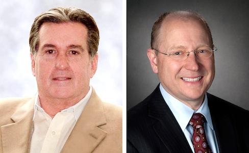 Joe Ashton (L) and Steve Girsky (R)