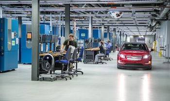GM battery laboratory, MI