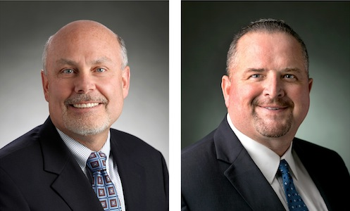 Ken Kelzer (L) and Ken Morris (R), GM