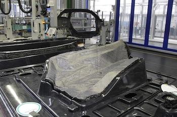 CFRP press shop, BMW Leipzig