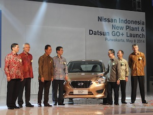 Datsun GO+, Nissan Purwakarta