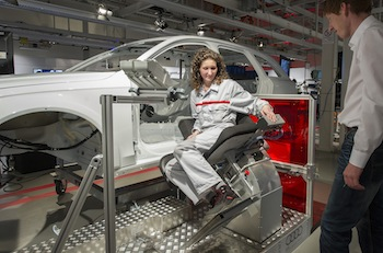 Ergonomic chair, Audi