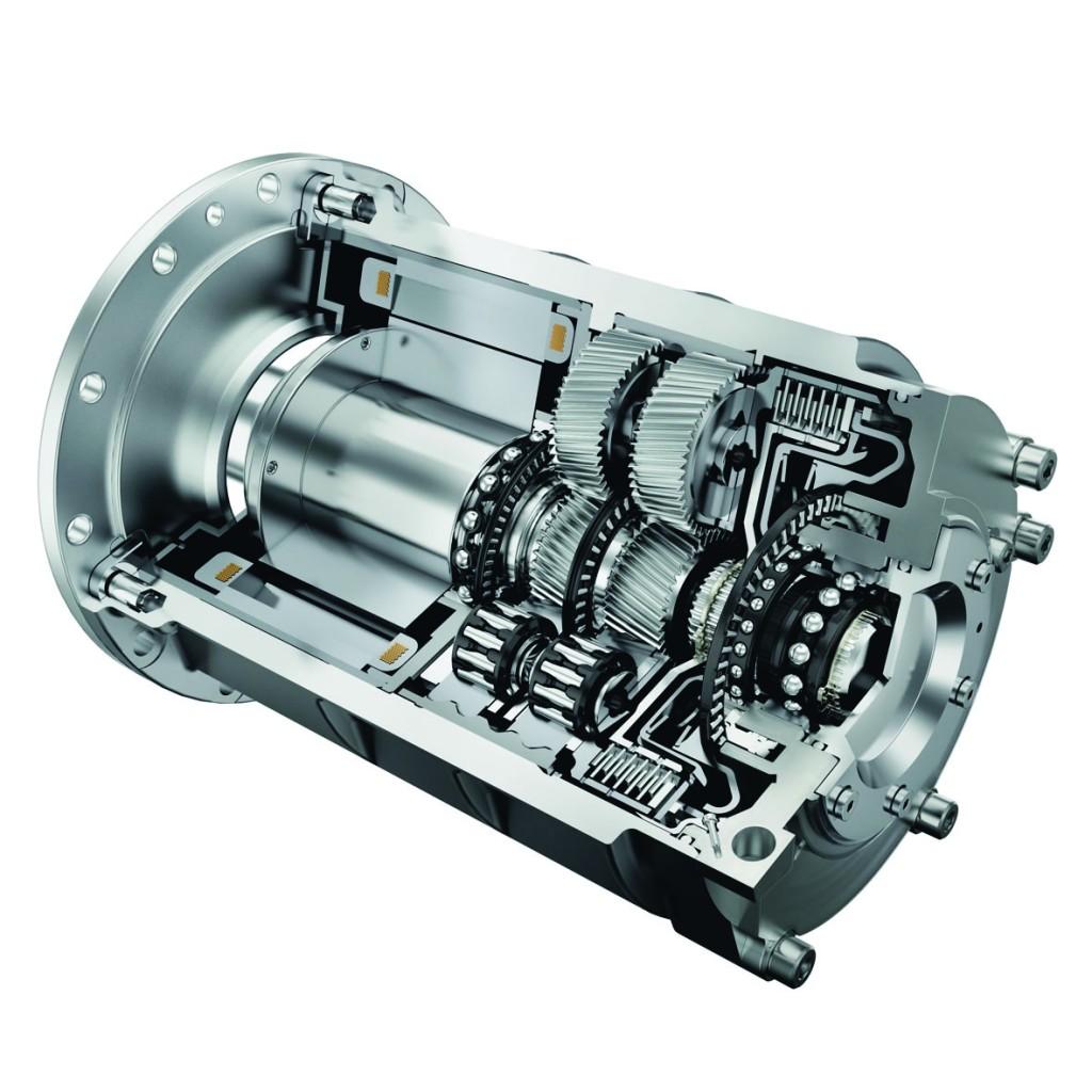 Electric drive module, Schaeffler