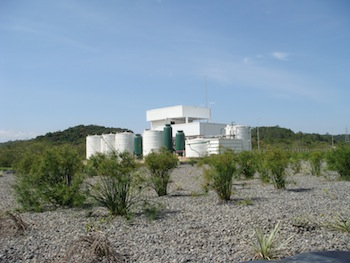 Wastwater facility, GM Joinville