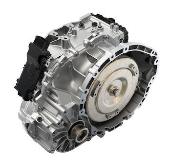 Nine-speed transmission, 2014 Jeep Cherokee