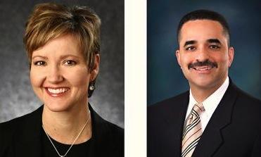 Judy Wheeler and Randy Parker