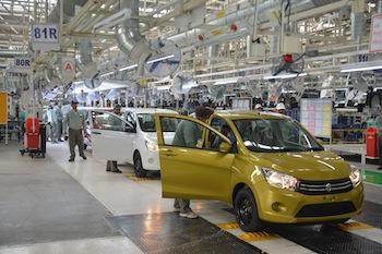 Final assembly, Maruti Suzuki