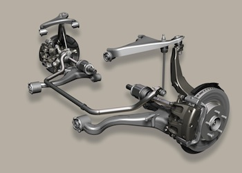 Front axle, ZF