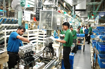 Engine assembly, Hyundai Chennai