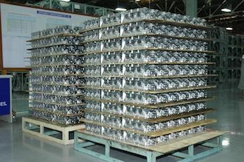 Aluminium foundry, Hyundai Chennai