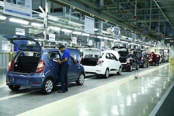 Assembly Line, Hyundai Chennai