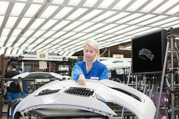 Gesture detection, BMW Landshut