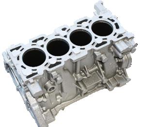 GM LGE I4 cylinder block, Nemak of Canada Corporation