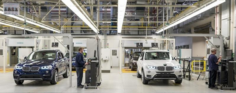 Intelligent data, BMW Spartanburg