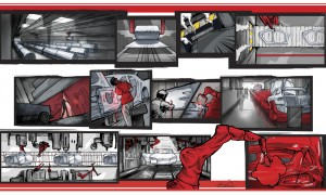 EV comic, Tesla