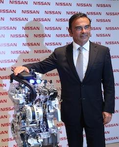 Carlos Ghosn, Nissan Resende