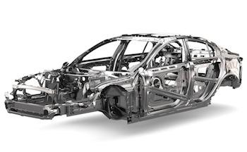 Jaguar XE monocoque
