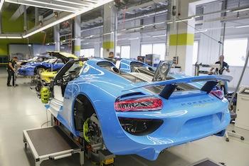 Porsche 918, Manufactory