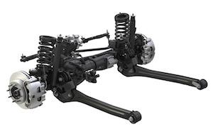2014 Ram Power Wagon front axle, FCA