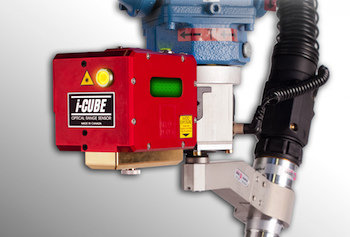 Laser-vision, seam-tracking system, Servo-Robot