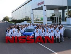 Nissan Aguascalientes A1