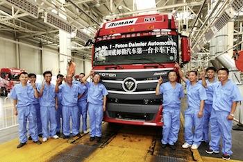 Job 1, Foton-Daimler