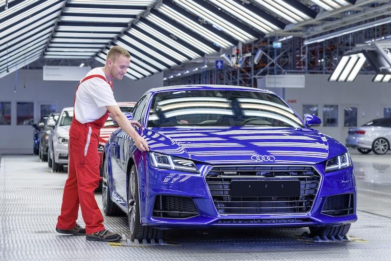 Audi Hungaria: Produktionsstart des neuen Audi TT Coup