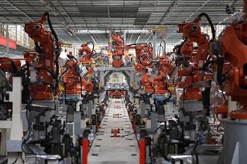 Welding line, GWM Tianjin