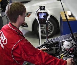 Smart factory, Audi