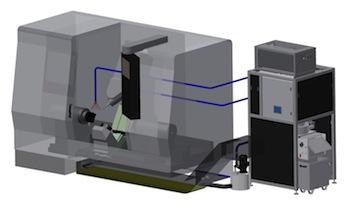 Central coolant filtration system, Accustrip Microfil