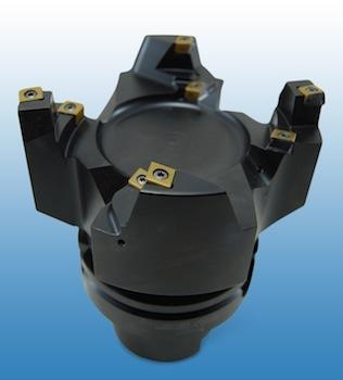 Turbocharger V-band machining, Iscar