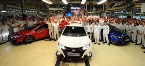 Civic Type R Line-Off Event