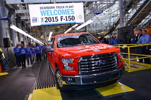 2015 F-150, Ford Dearborn