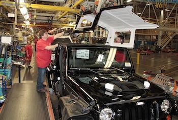 Jeep Wrangler, FCA US Toledo