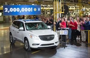 2016 Buick Enclave, GM LDT
