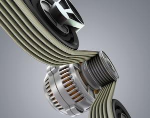 V-ribbed belt, ContiTech