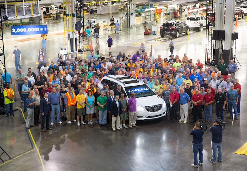 2 Millionth Vehicle Rolls Off Lansing Delta Township Assembly Line