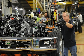 2015 F-150 assembly, Ford Dearborn