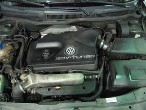 VW Jetta engine