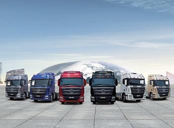 Auman trucks, Daimler-Foton
