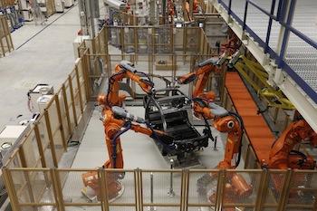 i3 bodyshop, BMW Leipzig