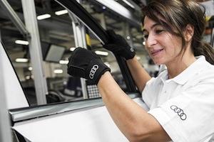Production orthoses, Audi