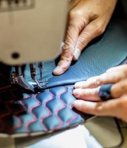 Hand stitching, Aston Martin Gaydon