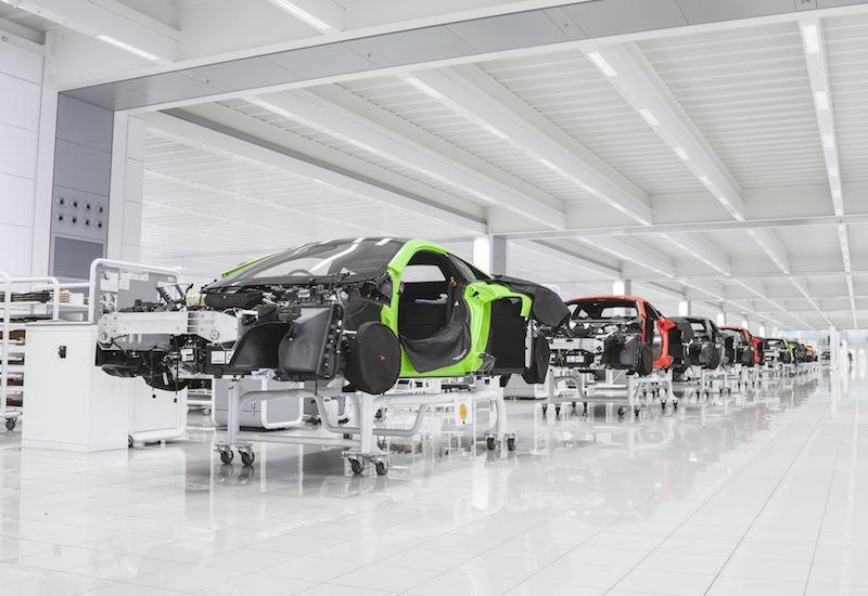 McLaren assembly