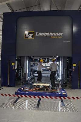 Downstroke press, Langzauner